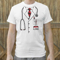 Doctor Costume T-Shirt | Short Sleeve Graphic Tee - The Updated Ones