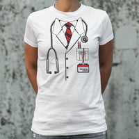 Doctor Costume T-Shirt | Women's Short Sleeve Top - The Updated Ones