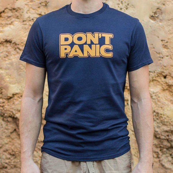 Don't Panic T-Shirt | Short Sleeve Graphic Tee - The Updated Ones