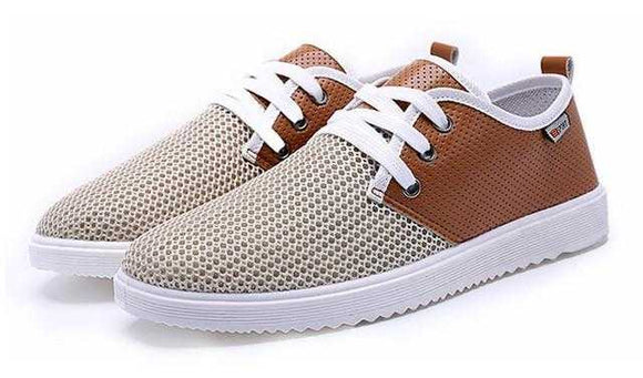 Mens Casual Lace Up Breathable Sneakers - The Updated Ones