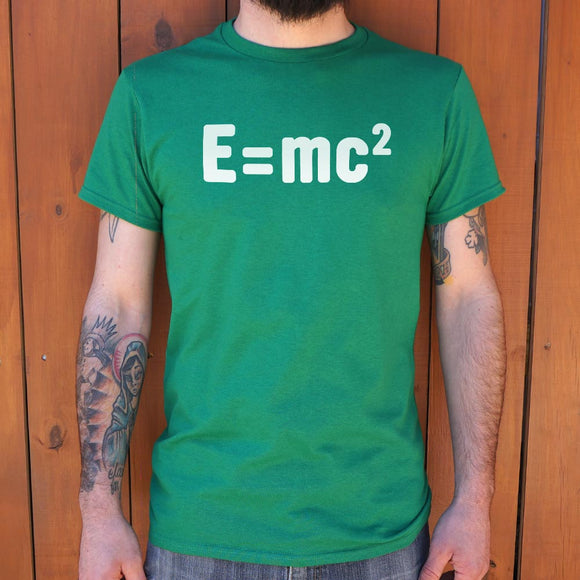Einstein's Formula  T-Shirt | Men's Short Sleeve Graphic Shirts - The Updated Ones