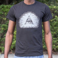 Eye Of Providence T-Shirt | Short Sleeve Graphic Tee - The Updated Ones