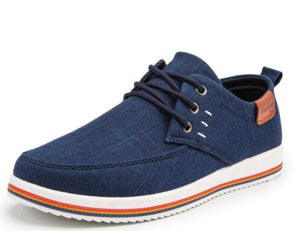 Mens Casual Canvas Loafers - The Updated Ones