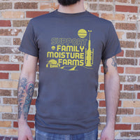 Support Family Moisture Farms T-Shirt | Short Sleeve Graphic Tee - The Updated Ones