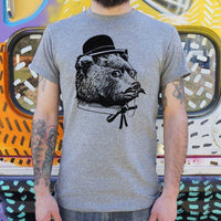 Fancy Bear T-Shirt | Short Sleeve Graphic Tee - The Updated Ones