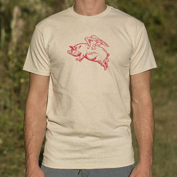 Flying Pig T-Shirt | Short Sleeve Graphic Tee - The Updated Ones