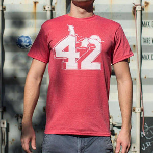 Forty Two T-Shirt | Short Sleeve Graphic Tee - The Updated Ones
