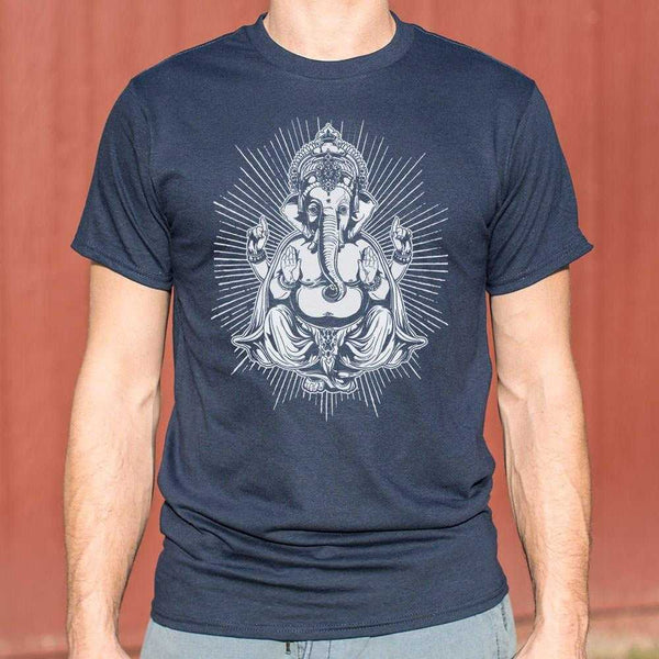 Ganesh Deity T-Shirt | Short Sleeve Graphic Tee - The Updated Ones