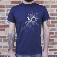 Geek At Heart Circuit T-Shirt | Short Sleeve Graphic Tee - The Updated Ones