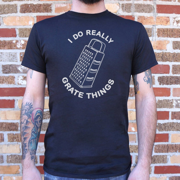 I Do Really Grate Things T-Shirt | Short Sleeve Graphic Tee - The Updated Ones
