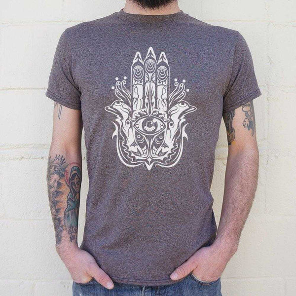 Hamsa Hand Symbol T-Shirt | Short Sleeve Graphic Tee - The Updated Ones