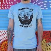 Hangin' For The Weekend Sloth T-Shirt | Short Sleeve Graphic Tee - The Updated Ones