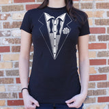 Hangover Tuxedo T-Shirt | Short Sleeve Female Top - The Updated Ones