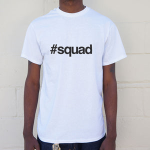 Hashtag Squad T-Shirt | Short Sleeve Graphic Tee - The Updated Ones