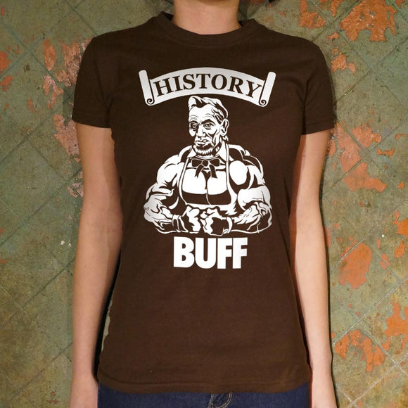 History Buff Lincoln T-Shirt | Short Sleeve Female Top - The Updated Ones