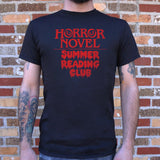Horror Novel Summer Reading Club T-Shirt (Mens) - The Updated Ones