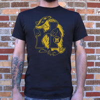 House Of Badger T-Shirt | Men's Short Sleeve Graphic Shirts - The Updated Ones