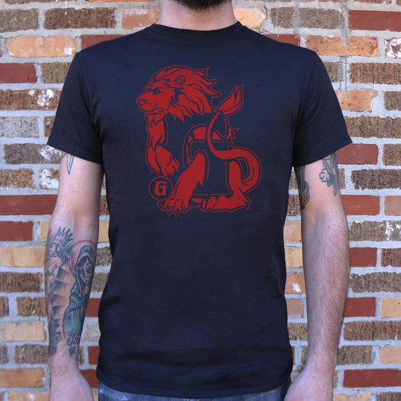 House Of Lion T-Shirt | Men's Short Sleeve Graphic Shirts - The Updated Ones