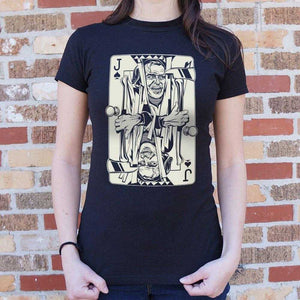 Jack Of Torrance Card T-Shirt | Women's Short Sleeve Top - The Updated Ones