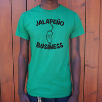 Jalape��o Business T-Shirt | Short Sleeve Graphic Tee - The Updated Ones