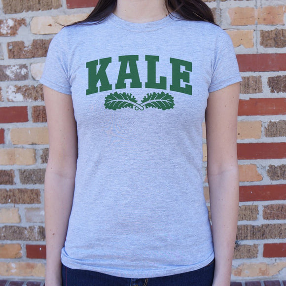 Kale University T-Shirt | Short Sleeve Female Top - The Updated Ones