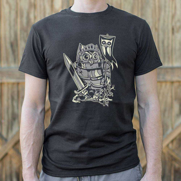 Knight Owl T-Shirt | Short Sleeve Graphic Tee - The Updated Ones