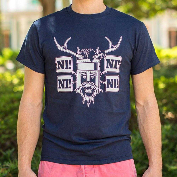 The Knights Who Say What? T-Shirt | Short Sleeve Graphic Tee - The Updated Ones