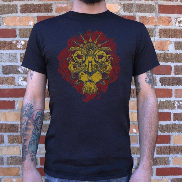 Leo The Lion T-Shirt | Short Sleeve Graphic Tee - The Updated Ones
