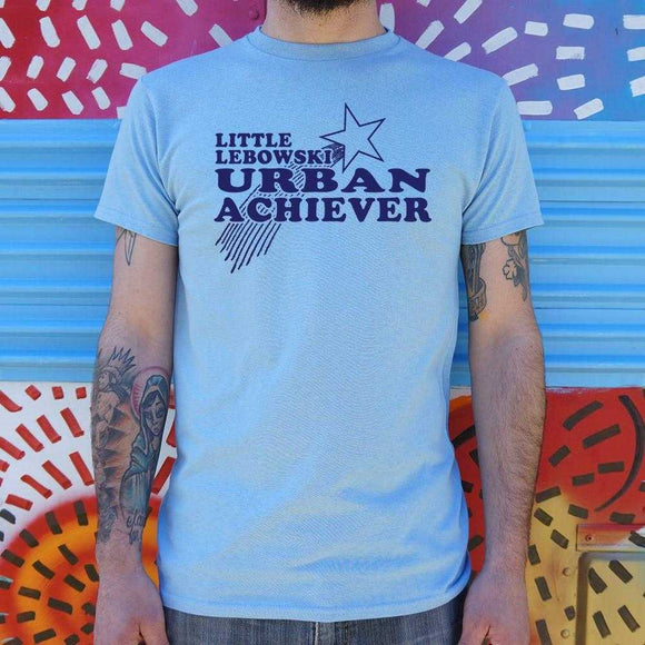 Little Lebowski Urban Achiever T-Shirt | Short Sleeve Graphic Tee - The Updated Ones