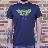 Luna Moth T-Shirt (Mens) - The Updated Ones