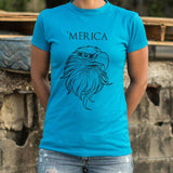 Merica T-Shirt | Women's Short Sleeve Top - The Updated Ones