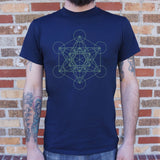 Metatron's Cube Diagram T-Shirt | Short Sleeve Graphic Tee - The Updated Ones