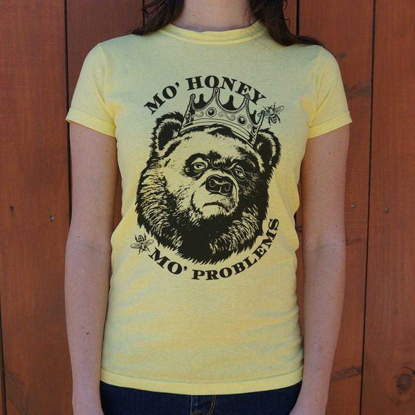 Mo' Honey Mo' Problems T-Shirt | Women's Short Sleeve Top - The Updated Ones