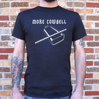 More Cowbell T-Shirt | Short Sleeve Graphic Tee - The Updated Ones