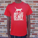 My Cat Is My Valentine T-Shirt | Short Sleeve Graphic Tee - The Updated Ones