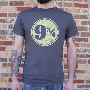 Nine And Three-Quarters T-Shirt | Short Sleeve Graphic Tee - The Updated Ones