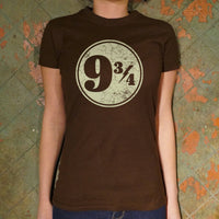 Nine And Three-Quarters T-Shirt | Short Sleeve Female Top - The Updated Ones