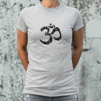 Om Symbol T-Shirt | Women's Short Sleeve Top - The Updated Ones