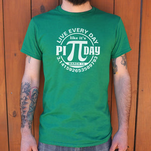 Every Day Pi Day  T-Shirt | Short Sleeve Graphic Tee - The Updated Ones