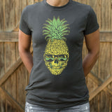 Pineapple Skull T-Shirt | Women's Short Sleeve Top - The Updated Ones