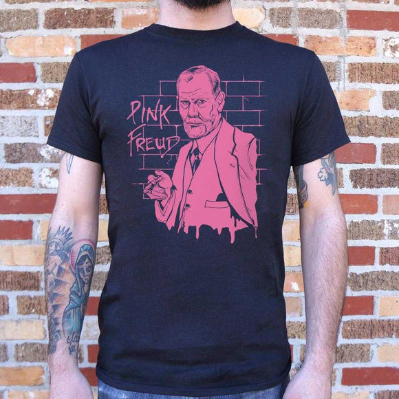 Pink Freud T-Shirt | Short Sleeve Graphic Tee - The Updated Ones