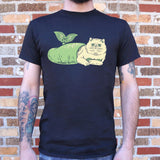 Purr-Maid Cat Mermaid T-Shirt | Short Sleeve Graphic Tee - The Updated Ones