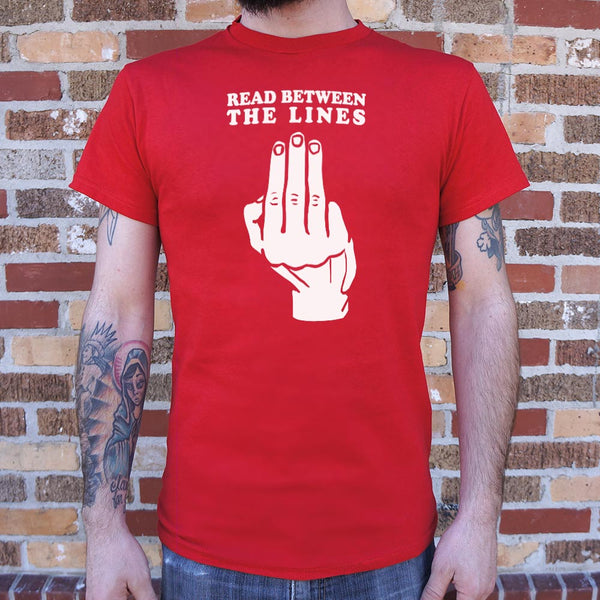 Read Between The Lines T-Shirt | Short Sleeve Graphic Tee - The Updated Ones