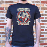 Captain Torrance Red Rum T-Shirt | Short Sleeve Graphic Tee - The Updated Ones