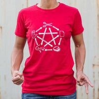 Rock Paper Scissors Lizard Spock T-Shirt | Women's Short Sleeve Top - The Updated Ones