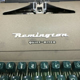 Details about   REMINGTON QUIET RITER TYPEWRITER with Locking Case-VINTAGE - The Updated Ones