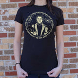 Carl Sagan Billions and Billions T-Shirt | Women's Short Sleeve Top - The Updated Ones