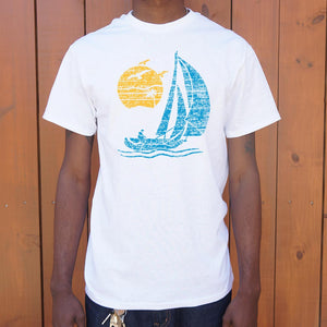 Sailing T-Shirt | Men's Short Sleeve Graphic Shirts - The Updated Ones