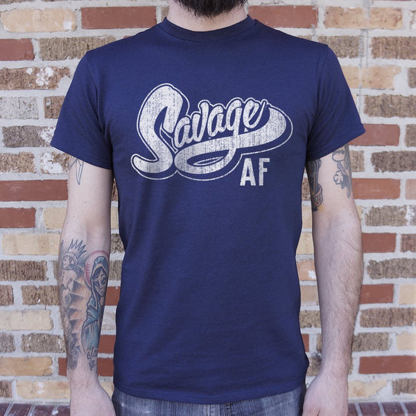 Savage AF T-Shirt | Short Sleeve Graphic Tee - The Updated Ones