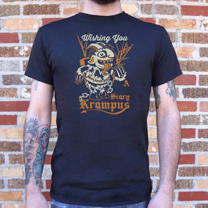 Scary Krampus T-Shirt | Short Sleeve Graphic Tee - The Updated Ones